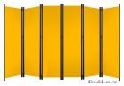 Ширма классик с желтыми полотнами