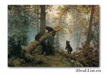 ... Фото картины Картина «Три медведя: ideallist.ru/product/rartina_tri_medvedya
