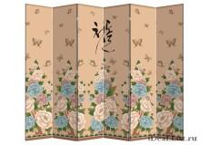 """Ширма """"Цветы Японии"""" 6"""