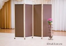 Ширма ЭКОномочка с шоколадным полотном